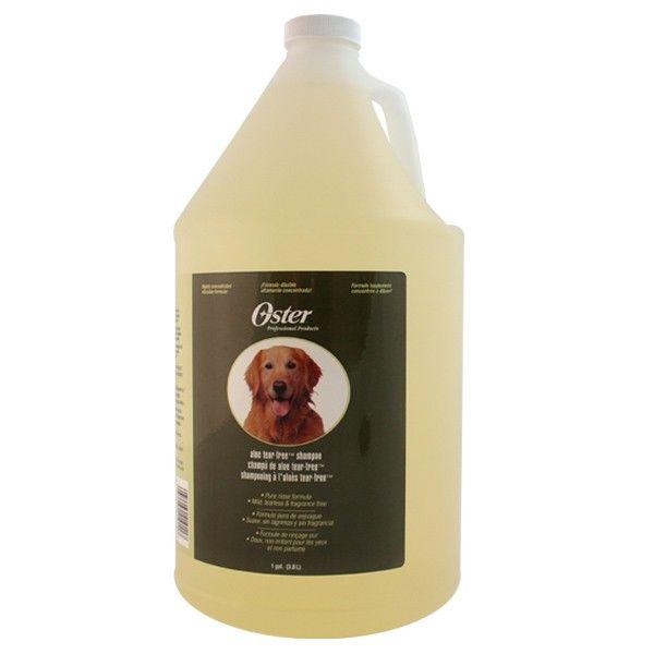 Шампунь для чувствительной кожи собак Oster Aloe Tear Free 3.8 л.