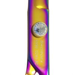 """Ножницы для груминга SWORDEX PET LINE 8.0"""" рабочие радужные артикул 8990 0280 RC 8,0"""" фото, цена gr_14355-02, фото 2"""