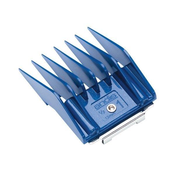 Насадка на машинку для стрижки животных Andis Blue 13 мм.
