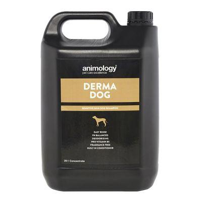Шампунь для чувствительной кожи собак Animology Derma Dog 5 л.