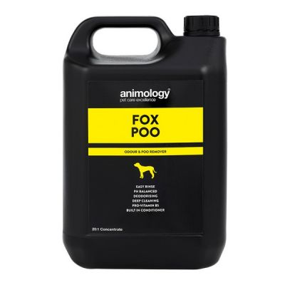 Шампунь для шерсти от неприятных запахов Animology Fox Poo 5 л.