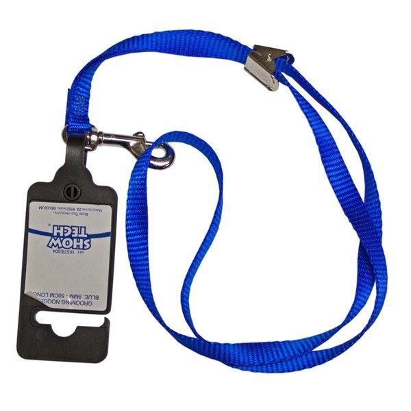 Петля-удавка для собак Show Tech голубая 50см*0,9см
