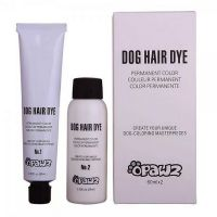 Opawz артикул: OW01-SB Черная краска и окислитель Opawz Dog Hair Dye Super Black 2х60мл