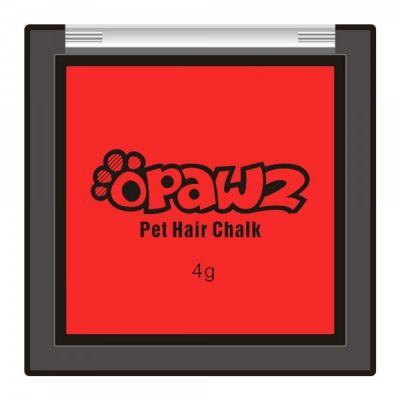 Красный мелок для шерсти Opawz Pet Hair Chalk Red 4 гр.