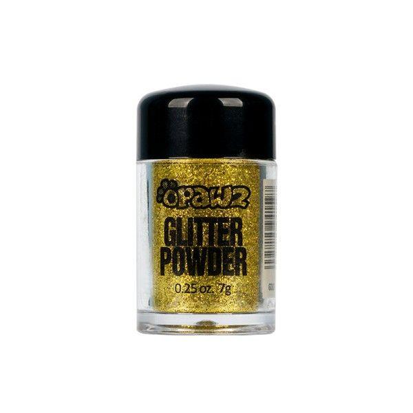 Порошок-блестки Opawz Glitter Powder Gold  8 мл