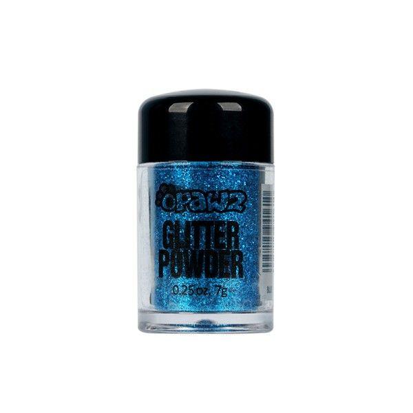 Порошок-блестки Opawz Glitter Powder Blue 8 мл