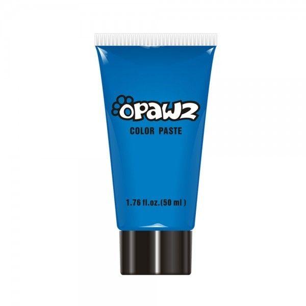 Синяя паста для шерсти Opawz Color Paste Blue 52 мл