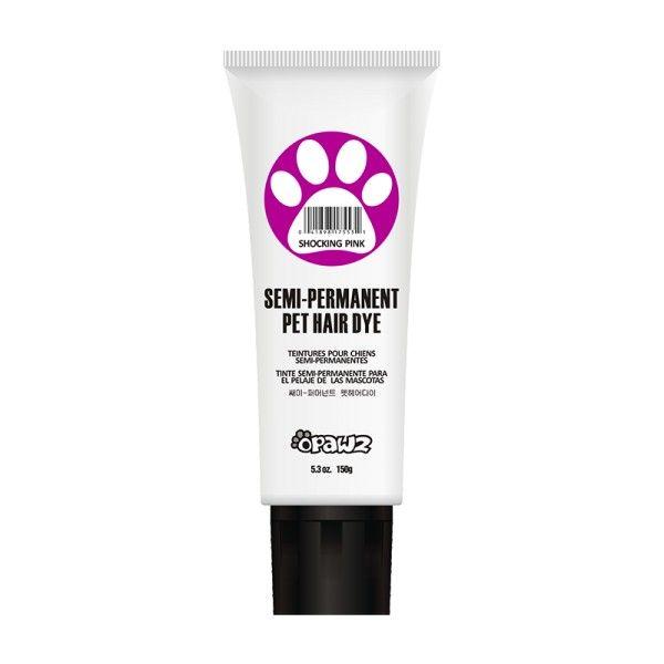 Розовая краска для животных Opawz Semi-permanent Hair Dye Shoking Pink 150 мл