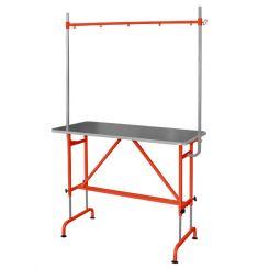 Стол для груминга GROOMER с кронштейном, оранжевый артикул 120 0004 ORN фото, цена gr_18676-01, фото 1
