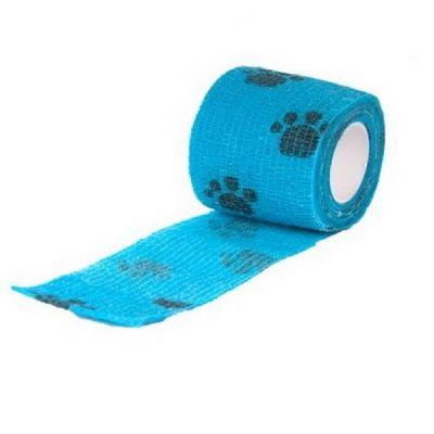 Эластичный бинт для собак Show Tech 7,5 см.* 4,5 см. синий