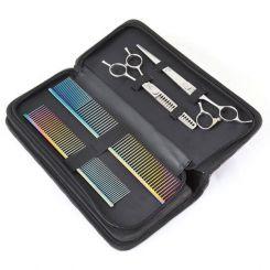 Чехол для 4-х ножниц Shernbao до 10 дюймов фиолетовый артикул CB VIO фото, цена gr_19281-02, фото 2