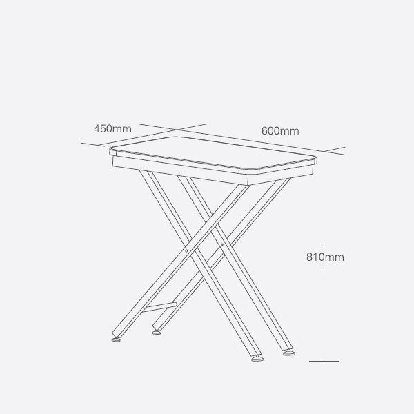 Выставочный стол для груминга животных Shernbao FT-820H Red