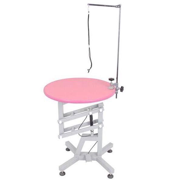Круглый стол для груминга животных Shernbao FT-831 Pink