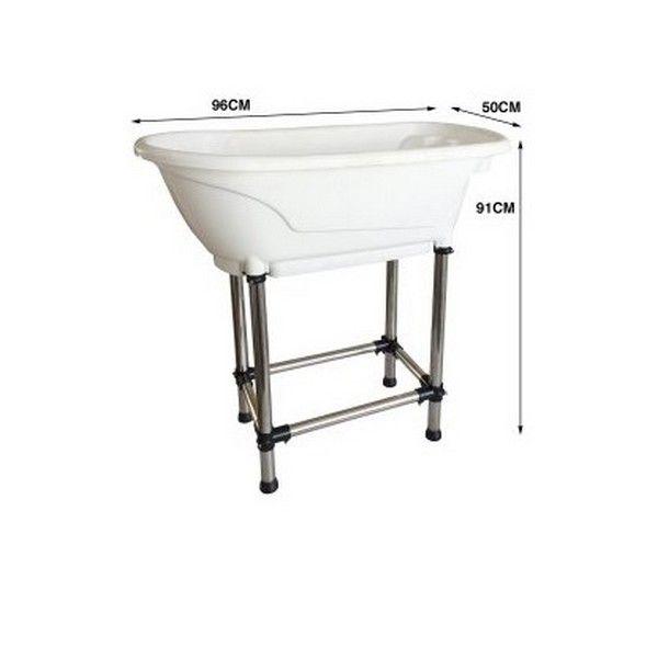 Ванна пластиковая для купания животных Show Tech Handy Tub M White.