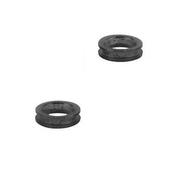 Черные кольца для ножниц Show Tech силикон, d-21 мм. 2 шт.