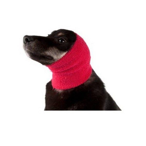 Бандаж для ушей собак малый Show Tech Ear Buddy розовый.