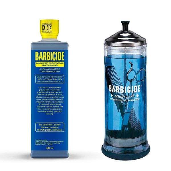 Жидкость для дезинфекции Barbicide Concentrate 1/16 - 480 мл.