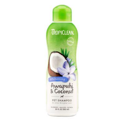 Шампунь для светлой шерсти Tropiclean Awapuhi and Coconut 592 мл.
