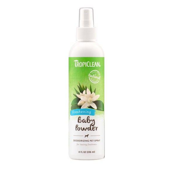 Спрей-парфюм Tropiclean Baby Powder для щенков с антистатиком 236 мл.