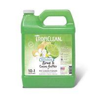 Tropiclean артикул: TP060210CD Кондиционер Tropiclean Lime and Cocoa Butter 1:10 разглаживающий 3,78 л.