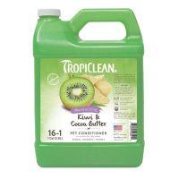 Tropiclean артикул: TP060166CD Кондиционер Tropiclean Kiwi and Cocoa Butter 1:16 для увлажнения 3,78 л.