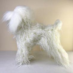 Парик для тела манекена MD01 - белый Той-пудель артикул OW16-MD01-BODY-WHT фото, цена gr_20043-02, фото 2