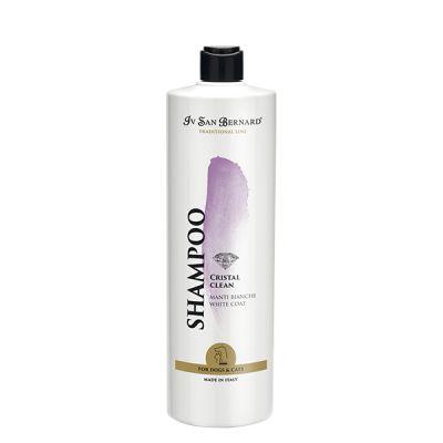 Шампунь для белой шерсти Iv San Bernard Cristal Clean 1 л.