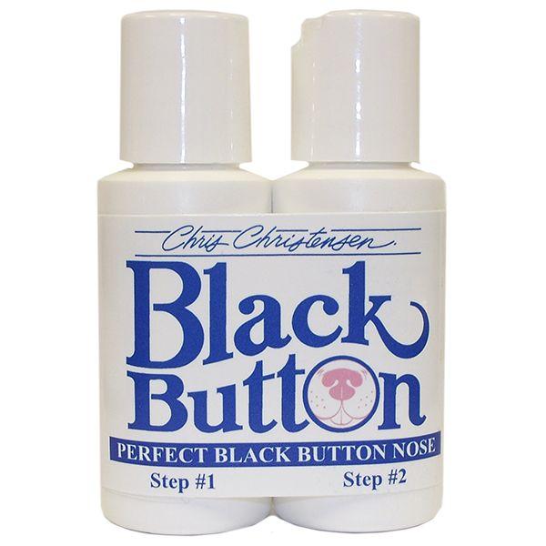 Затемнитель носа для собак Chris Christensen Black Button 2-х фазный
