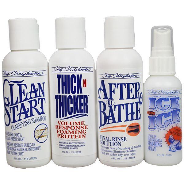 Набор для глубокой очистки шерсти Chris Christensen Clean Start