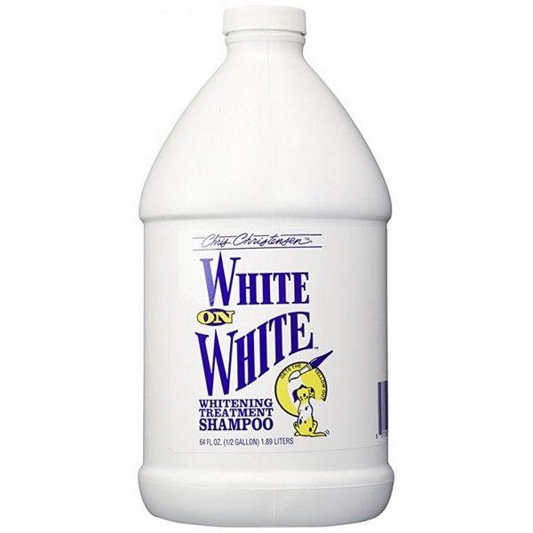 Шампунь Chris Christensen White on White отбеливающий 3,8 л.