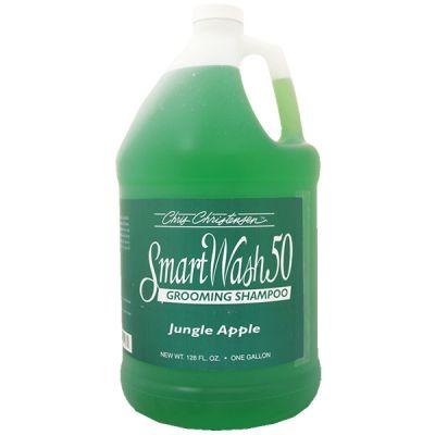 Шампунь Chris Christensen Smatrwash 50 Jungle Apple глубокая очистка 3,8 л.