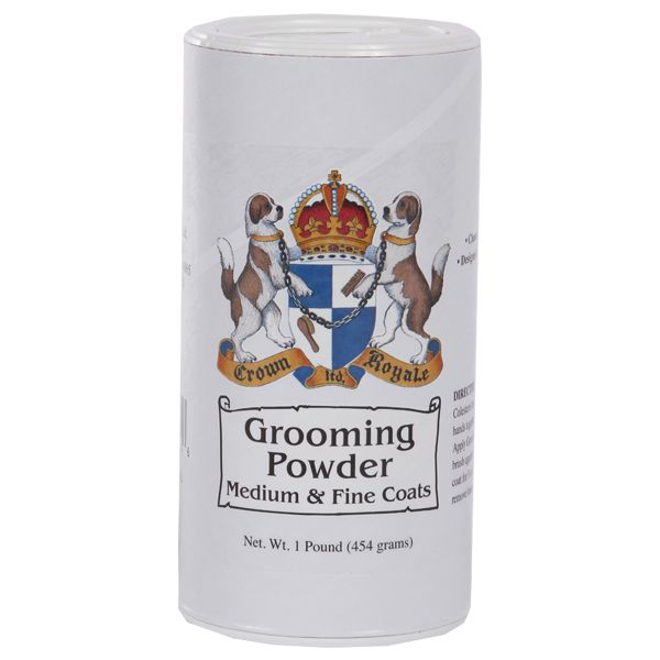 Пудра для шерсти средней густоты Crown Royale Medium and Fine 450 гр.