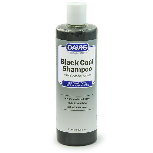 Шампунь для черной шерсти Davis Black Coat Shampoo 10:1 - 355 мл.