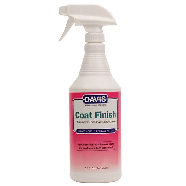 Средство для восстановления шерсти у собак и котов Davis Coat Finish 946 мл.