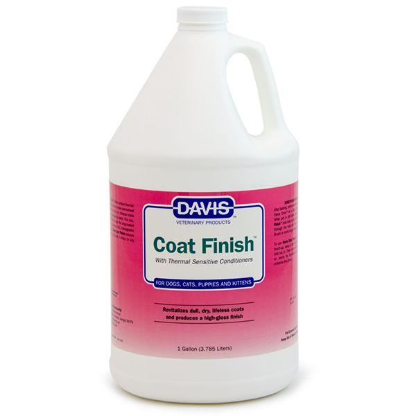 Средство для восстановления шерсти у собак и котов Davis Coat Finish 3,8 л.