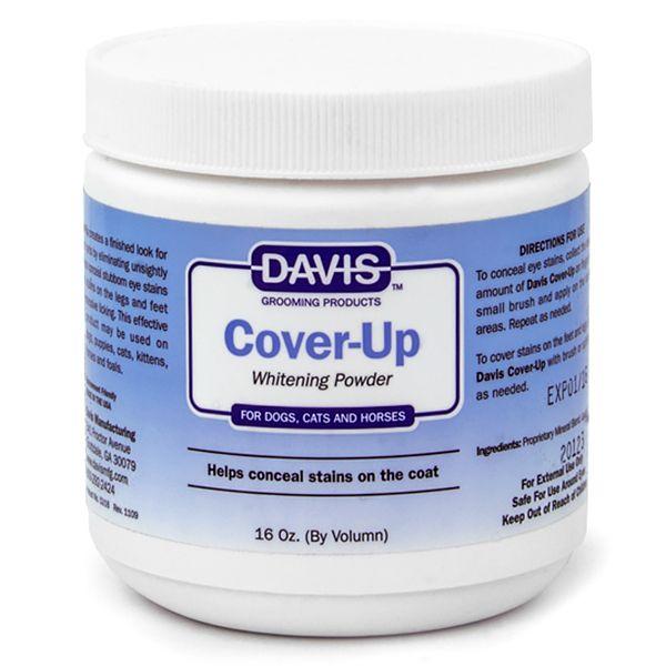 Отбеливающая пудра для животных Davis Cover-Up Whitening Powder 300 мл.