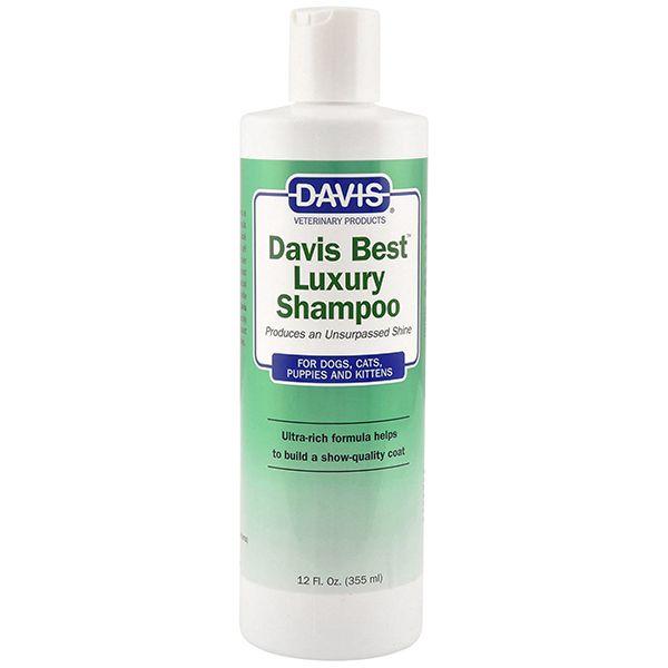 Шампунь для блеска шерсти Davis Best Luxury Shampoo 12:1 - 355 мл.