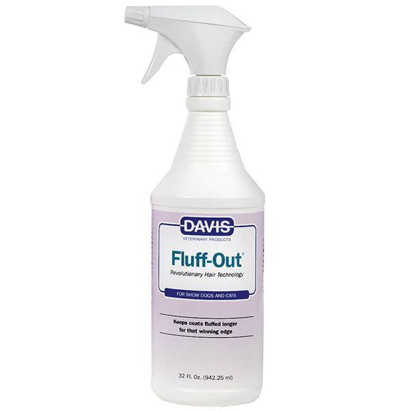 Спрей для укладки шерсти Davis Fluff Out 946 мл.