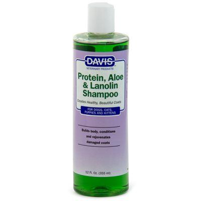 Шампунь Davis Protein and Aloe and Lanolin Shampoo 12:1 - 355 мл.