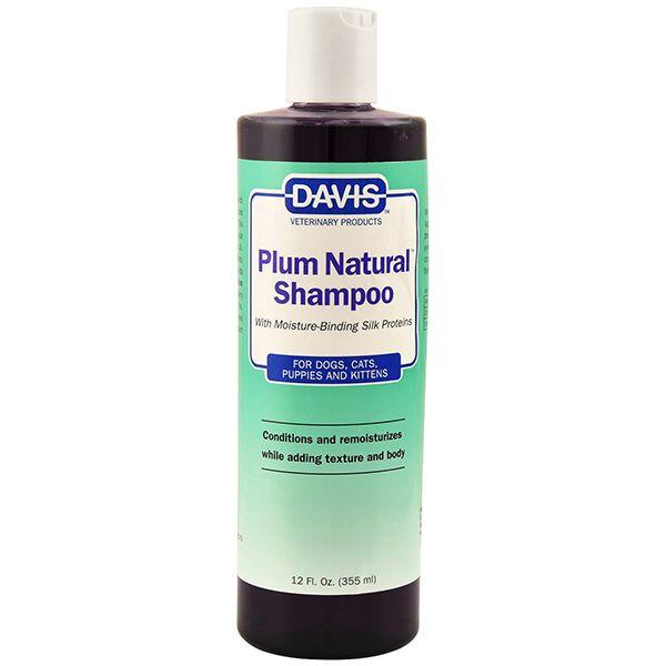 Шампунь с протеинами шелка Davis Plum Natural Shampoo 24:1 - 355 мл.