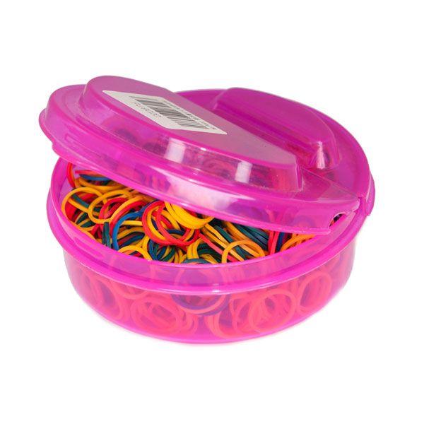Цветные грумерские резинки упаковка 1000 шт.