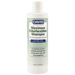 Шампунь хлоргексидином Davis Chlorhexidine Shampoo 4%  355 мл. артикул DAV-CH4S фото, цена gr_21134-01, фото 1