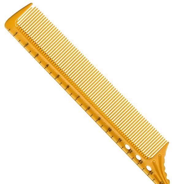 Удлиненная расческа с шпикулем Sway Yellow ion 012
