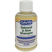 Davis артикул: DAV-OASR50 Шампунь для животных без мыла Davis Oatmeal Aloe 12:1 - 50 мл.
