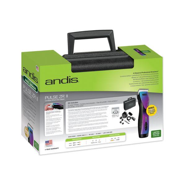 Машинка для груминга Andis Pulse ZR 2 Purple Galaxy Limited Edition